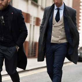 We often saw men dressed to the tens in City Center