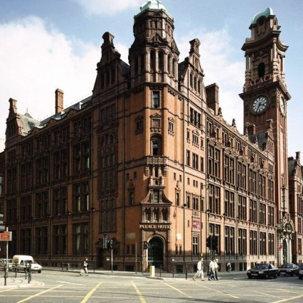 The Palace Hotel, one of Manchester's most prized buildings
